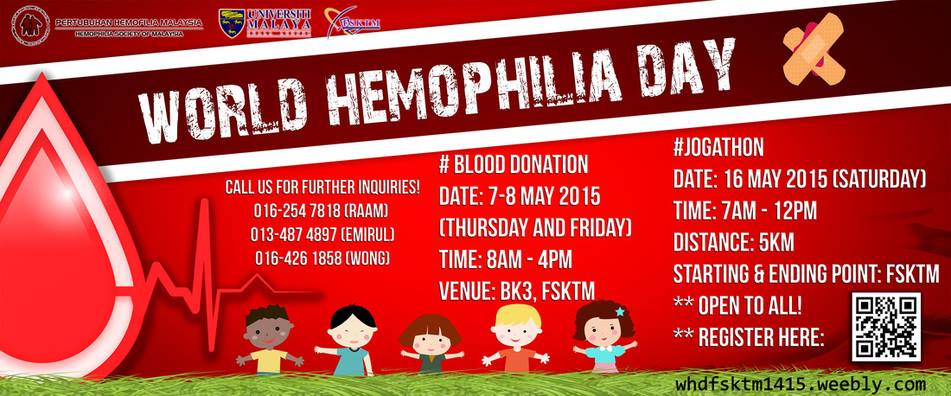 World Hemophilia Day 2015 Jogathon