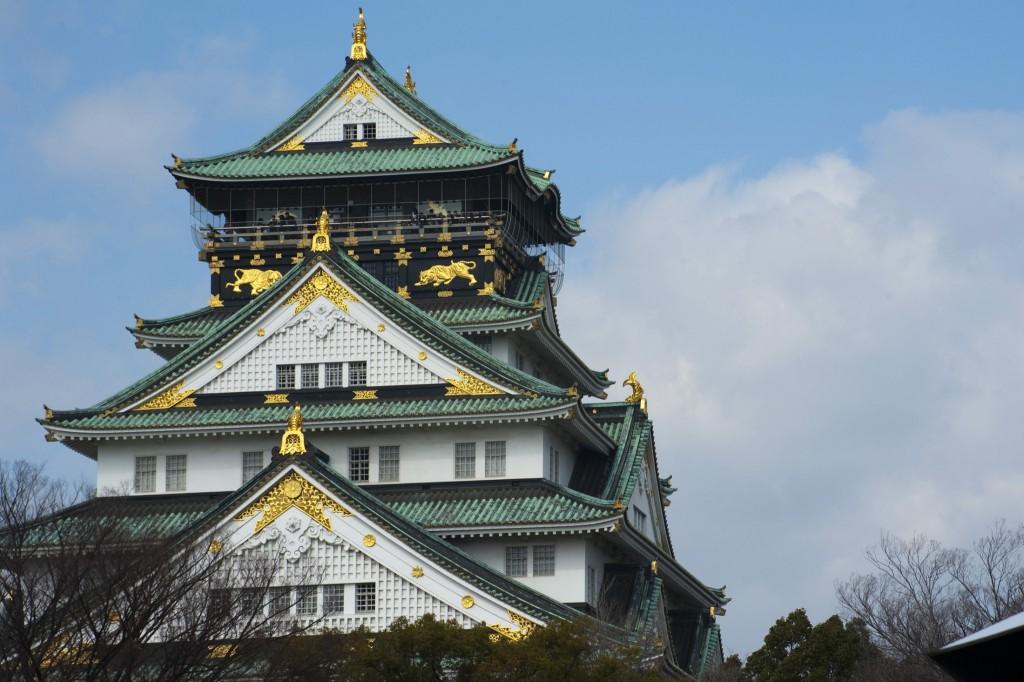 Osaka Castle. Image by: freeimageslive.co.uk - photoeverywhere