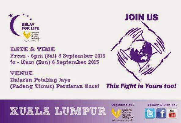 Relay for Life 2015 Kuala Lumpur
