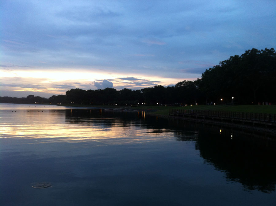 bedok-reservoir-sunset