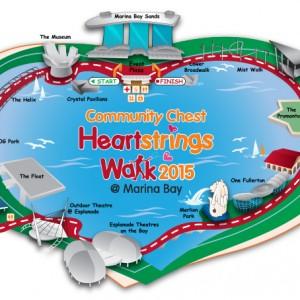 Community Chest Heartstrings Walk 2015