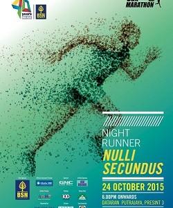 BSN Putrajaya Night Marathon 2015