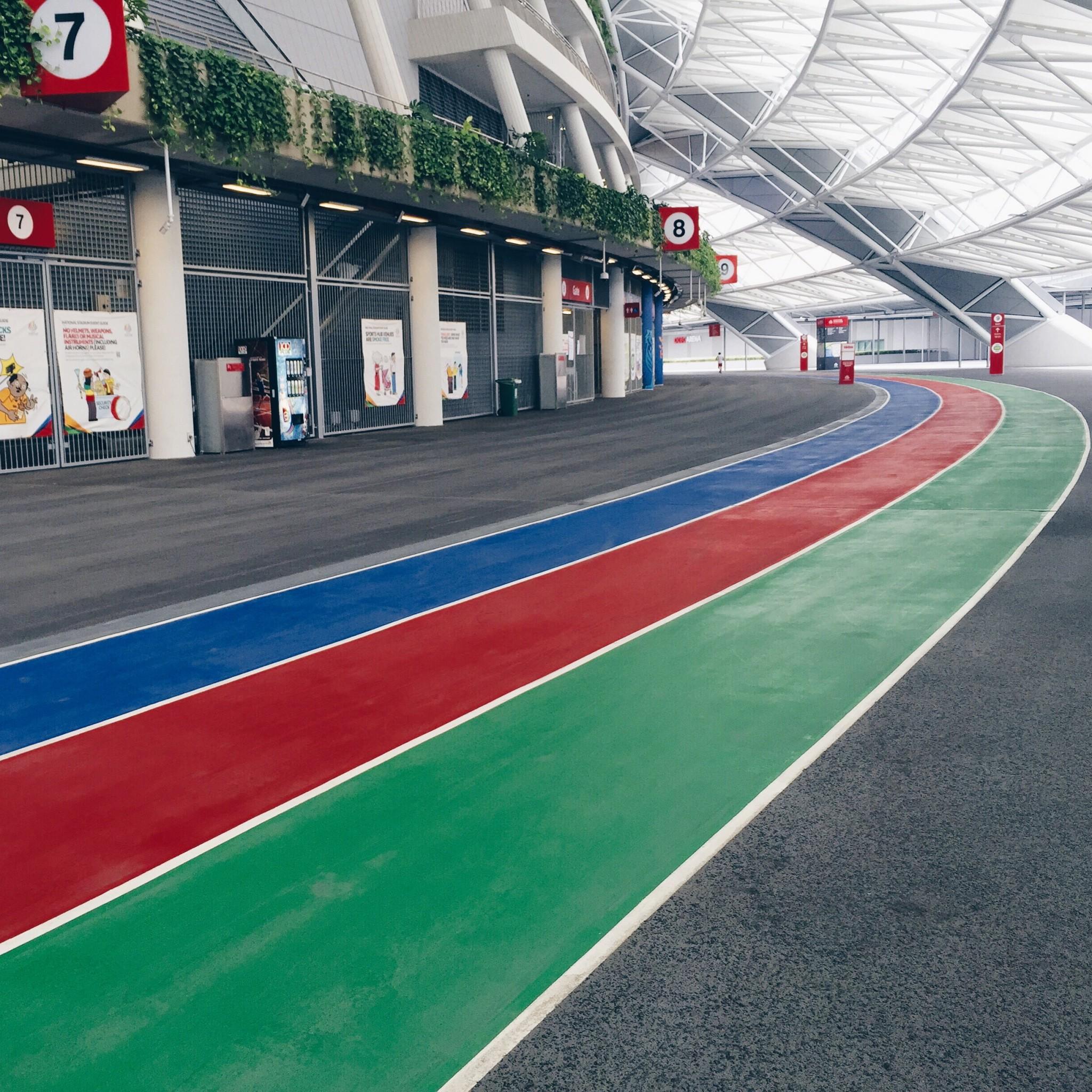 100Plus Promenade / Singapore Sports Hub | Just Run Lah!
