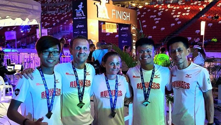 Asics City Relay Singapore 2015 (Mixed Team Champion)