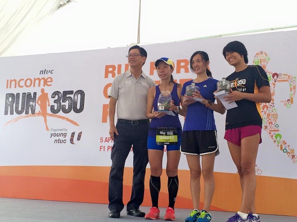 NTUC Income Run 350, Champion (Union)