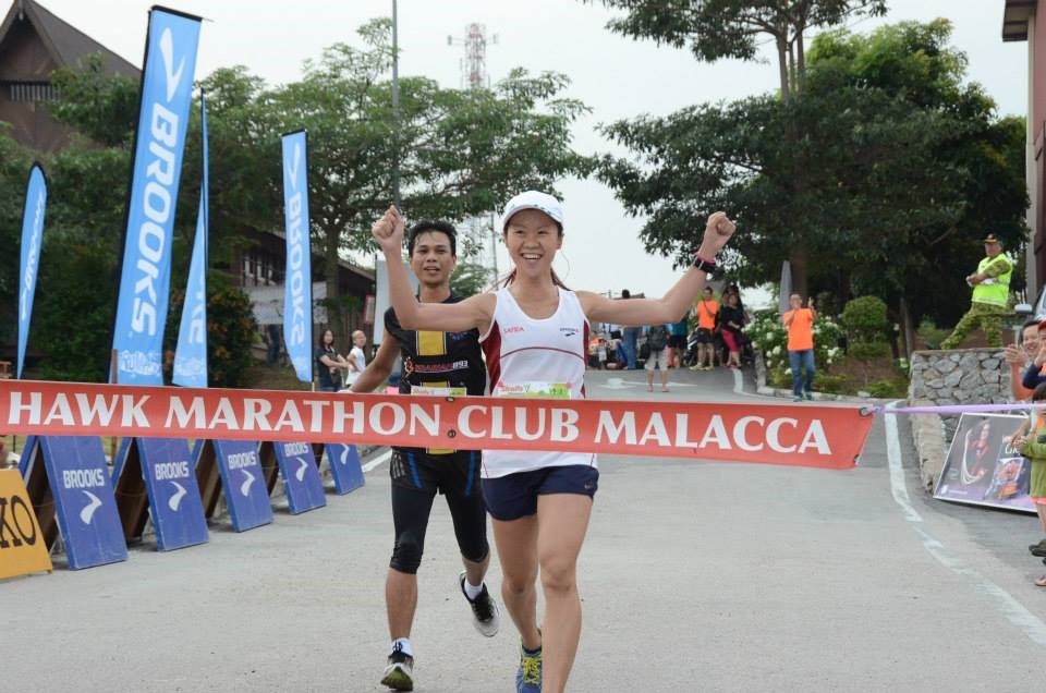 Skyhawk Nature Run 2015 (21km, 1st place at 1h 43m15s)