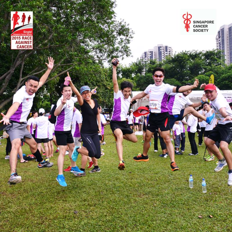 Image credit: Singtel & Singapore Cancer Society Race Against Cancer