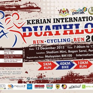 Kerian International Duathlon 2015