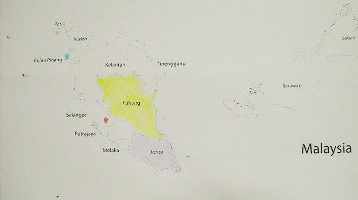 KL-Penang-Pahang-Johor down. (colored)