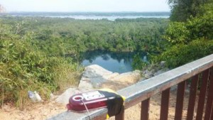 View from checkpoint at Ubin Highest Point
