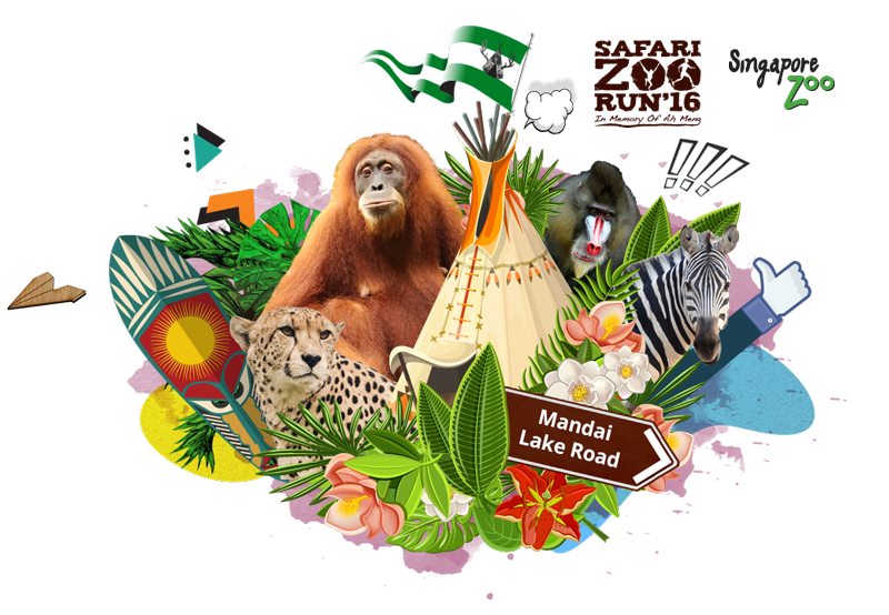 Safari Zoo Run 2016 (Day 1)