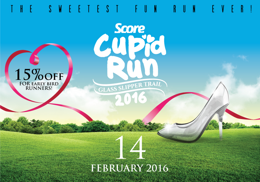 SCORE Cupid Run 2016: Glass Slipper Trail