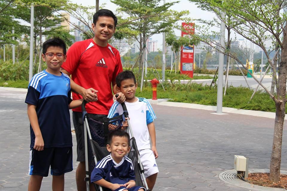 stroller family