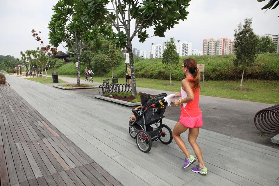 stroller-woman