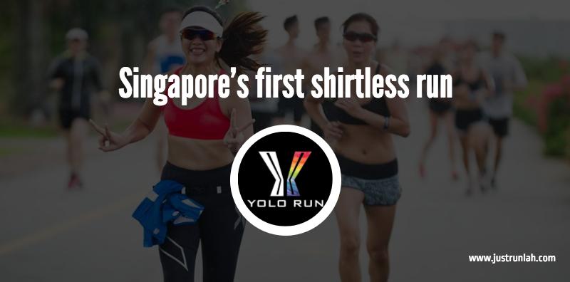 1 singapore first shirtless run