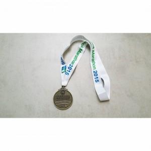 Finisher Medal. Photo Credit: IG @mrhullabaloo
