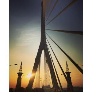 Rama 8 Bridge up close. Photo credit: IG @temmy_p