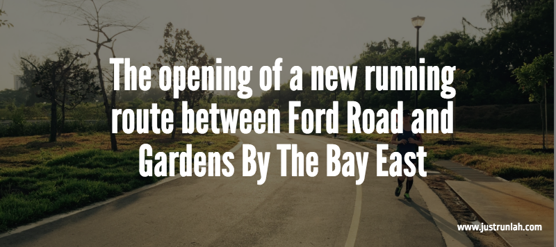 8 new running route ford road