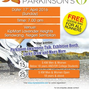 Run for Parkinson's 2016