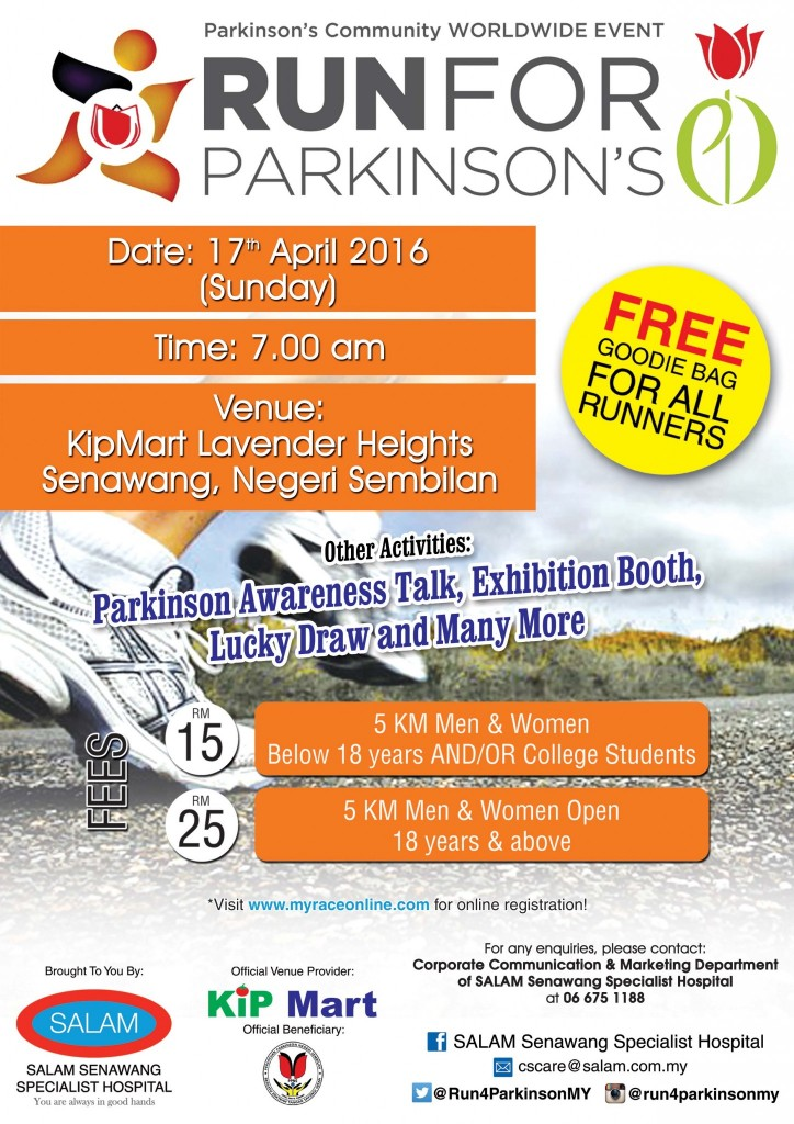 Run for Parkinson's 2016