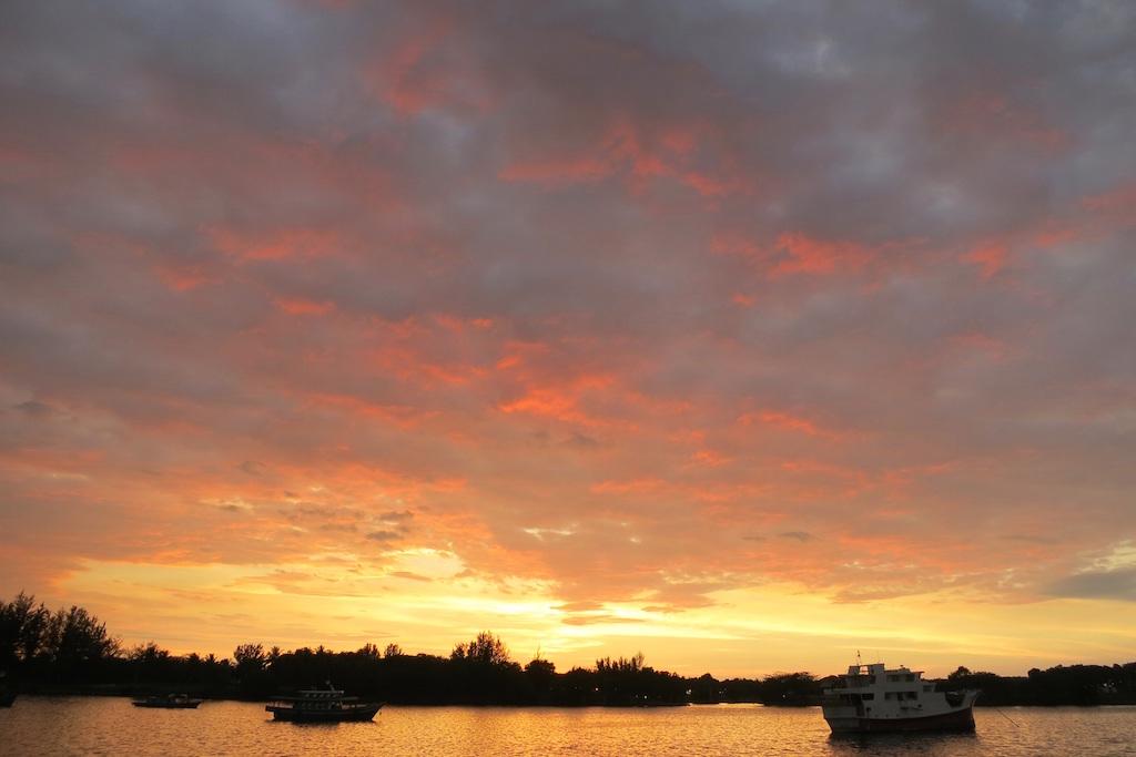 Sunset-Waterfront