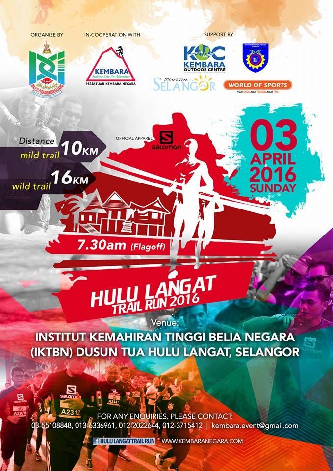 Hulu Langat Trail Running 2016