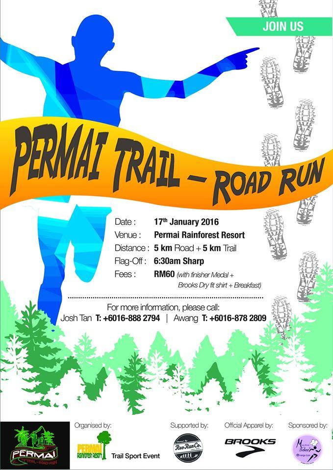 Permai Trail – Road Run 2016