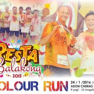 Pesta Balakong Color Run 2016