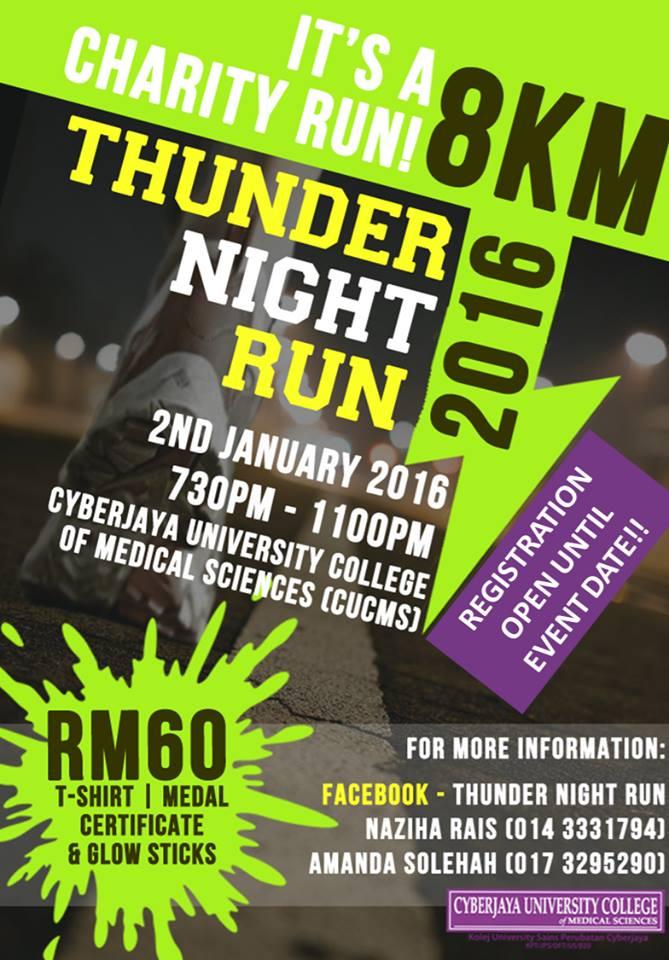 Thunder Night Run 2016