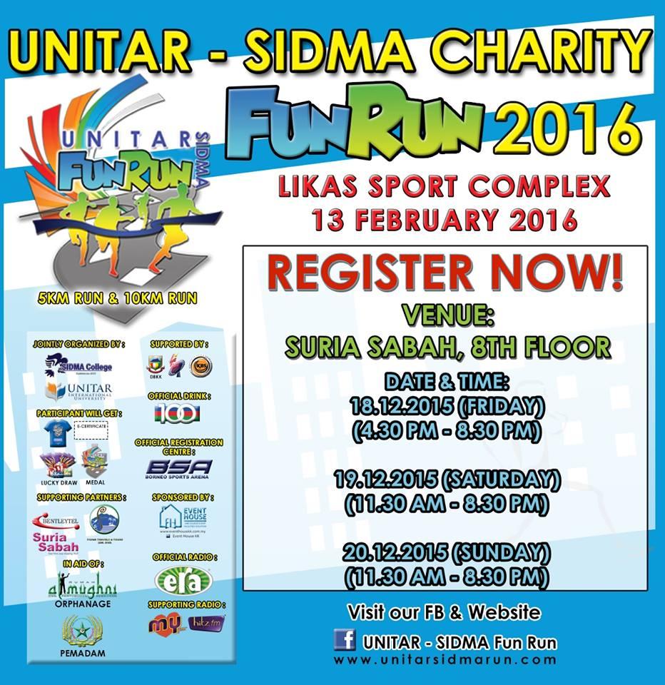 UNITAR – Sidmar Charity Fun Run 2016