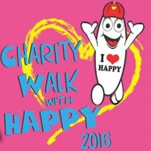 Charity Walk With Happy 2016