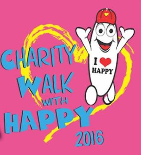 Charity Walk With Happy 2016