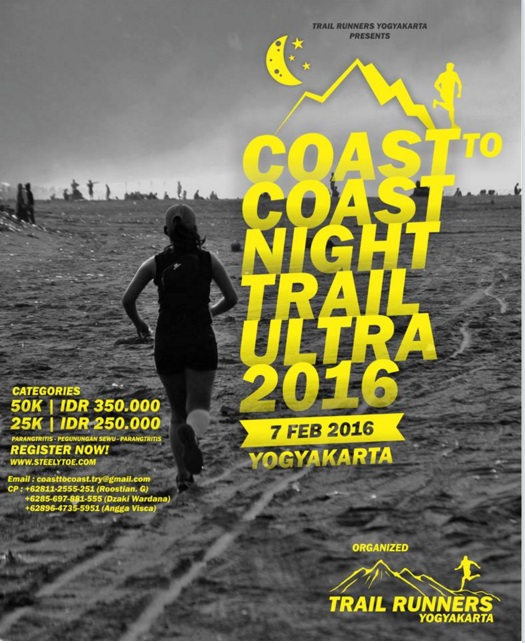 Coast to Coast Night Trail Ultra 2016