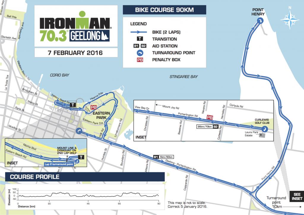 Geelong Racecourse Map