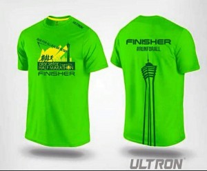 Finisher shirt. Photo courtesy: Official Event FB page.