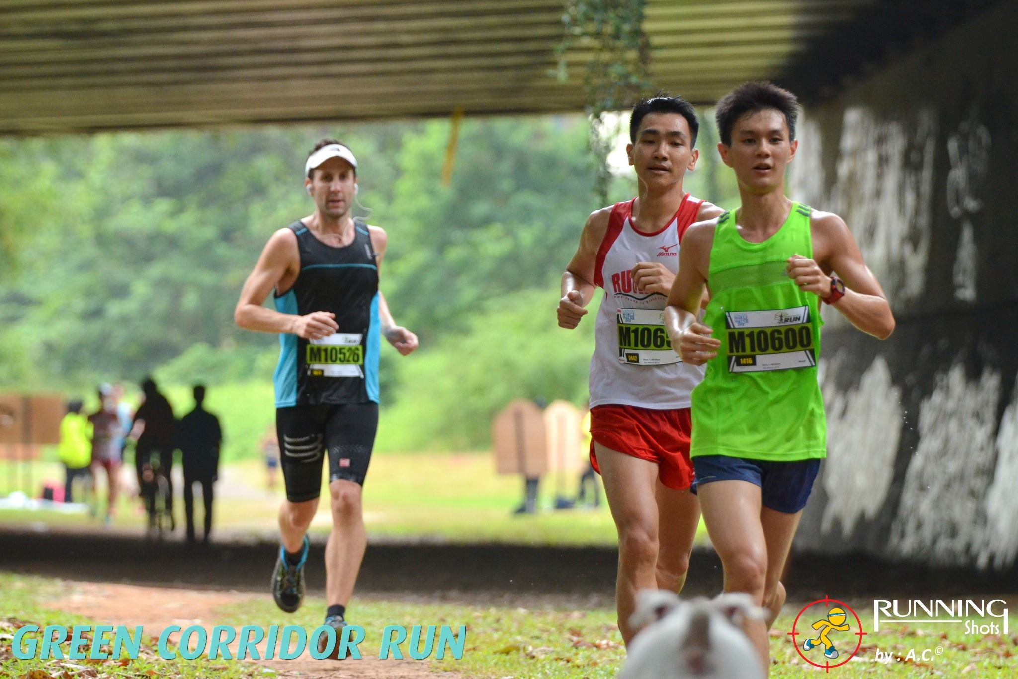 Just after the 7.5km hydration station. Credit to Running Shots.