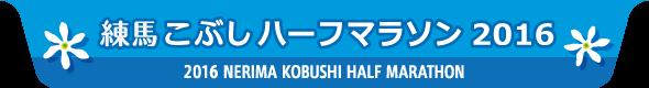 Nerima Kobushi Half Marathon 2016