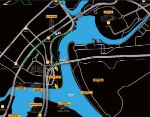 2XU 5km route