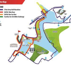 SAFRA Singapore Bay Run & Army Half Marathon 2016