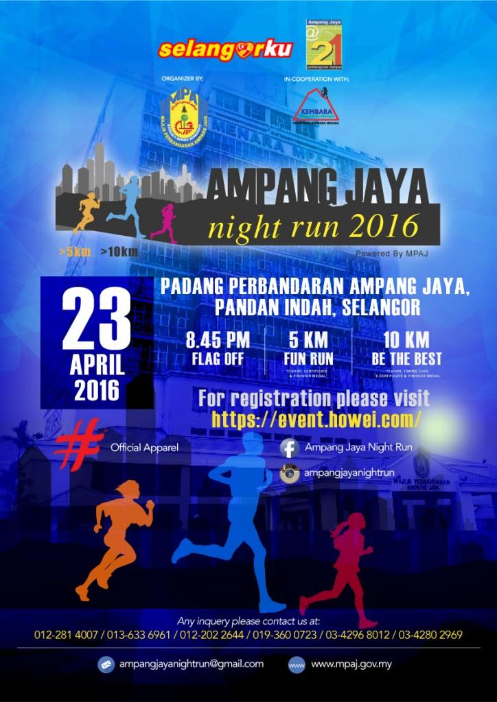 Ampang Jaya Night Run 2016