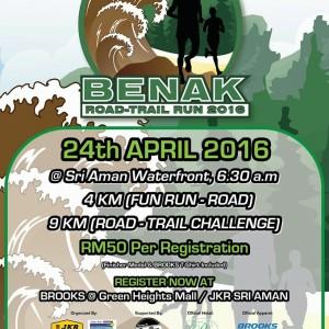 Benak Road-Trail Run 2016