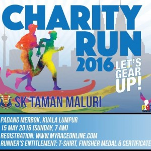 Charity Run 2016 – Let's Gear Up!