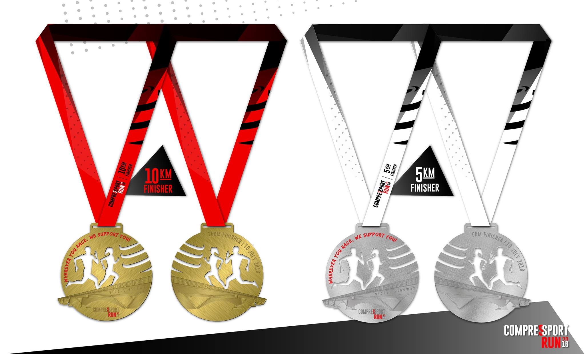 compressport run medals