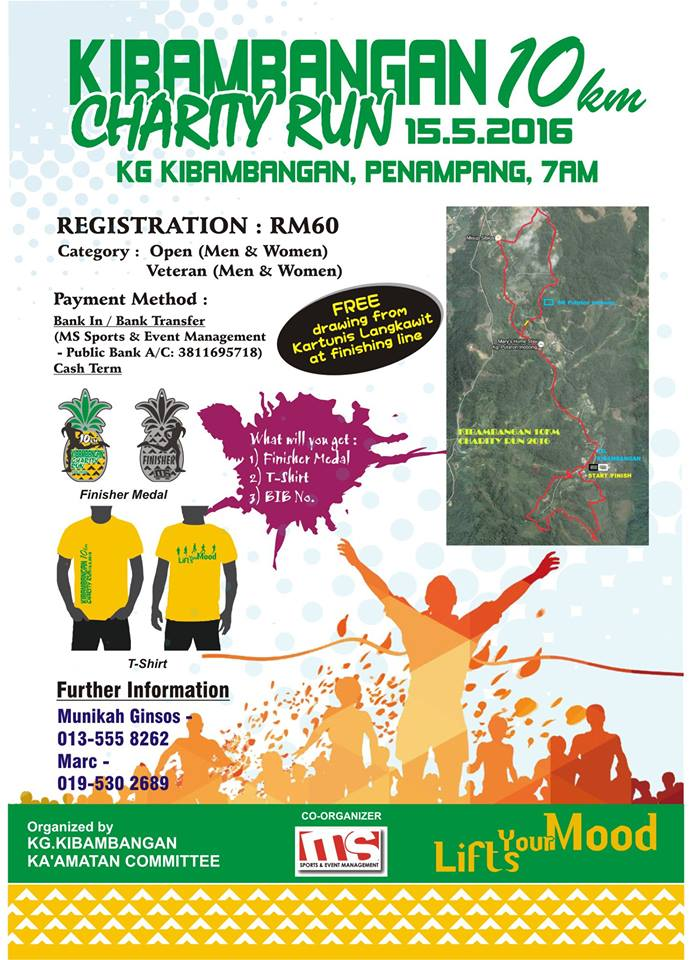 Kibambangan 10km Charity Run 2016