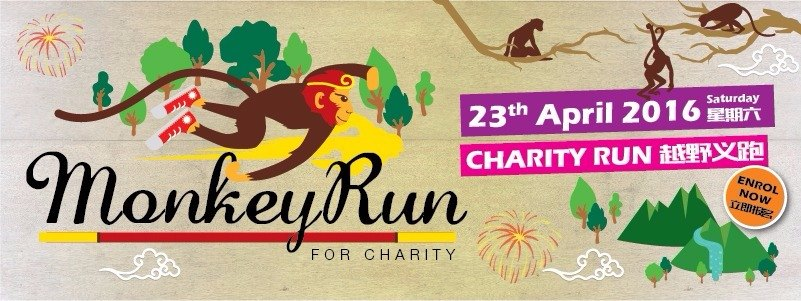 Monkey Run For Charity 2016