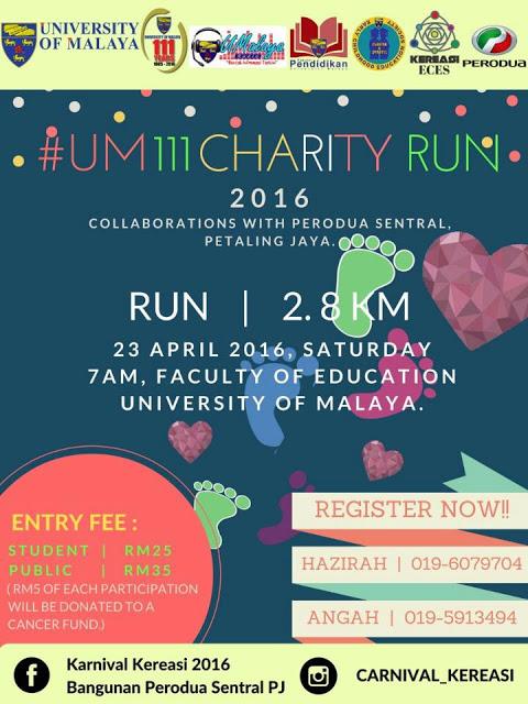 UM111 Charity Run 2016