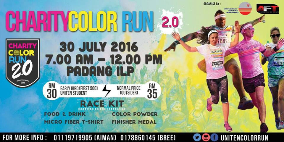 UNITEN Color Run 2.0
