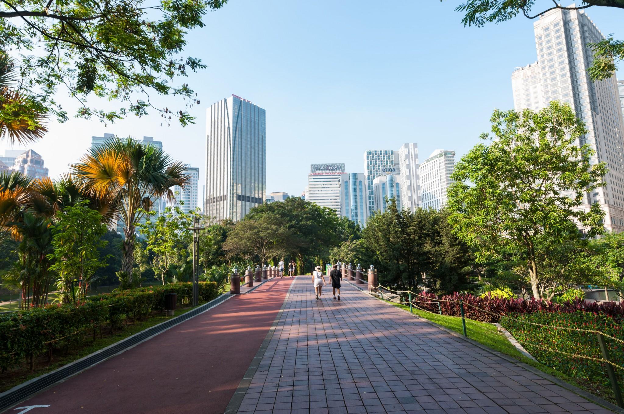 Kuala Lumpur City Centre Park Justrunlah
