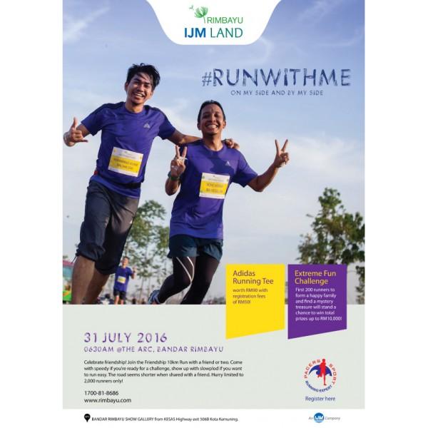 Rimbayu IJM Land – #RUNWITHME 2016