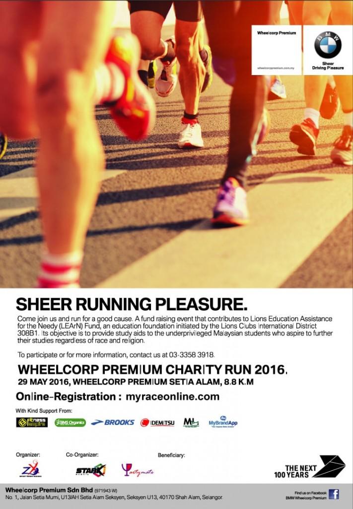 BMW Wheelcorp Premium Setia Alam Charity Run 2016